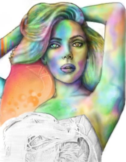 Scarlett Johansson by StrenAbility